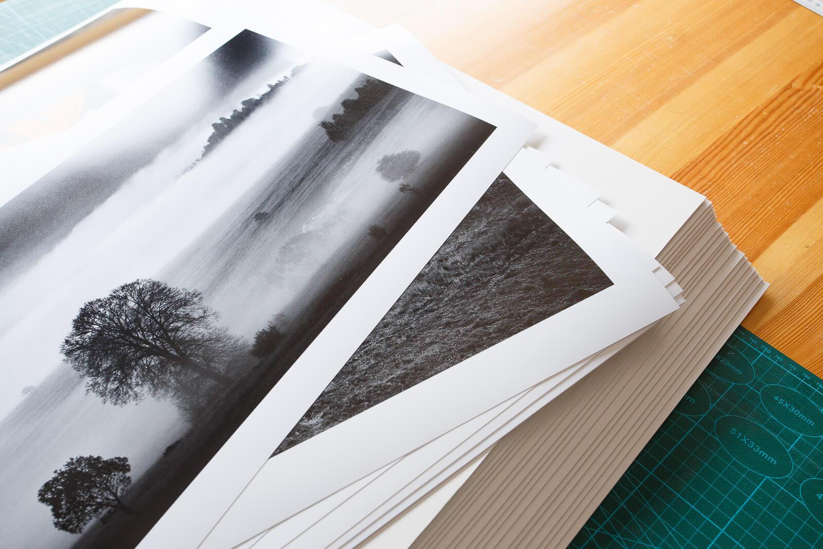 wydruk na papierze foto