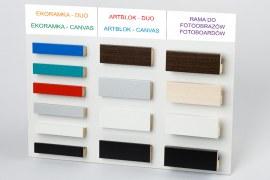 Wzornik kolorystyczny ramek na wcisk